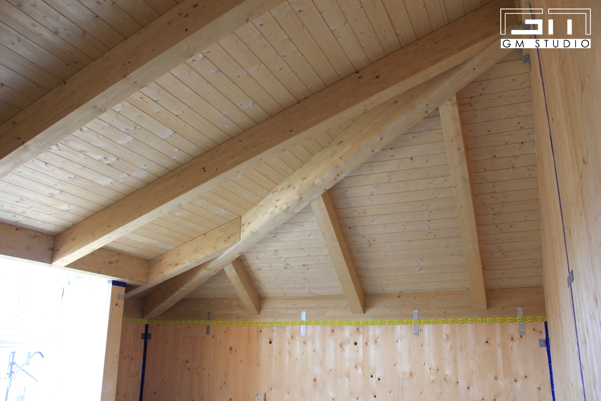 Sopraelevazione in legno gmstudio for Sopraelevazione in legno